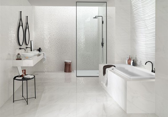 Marble White Bathroom