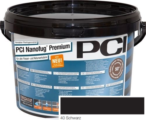 PCI NANOFUG PREMIUM BLACK 40 5KG