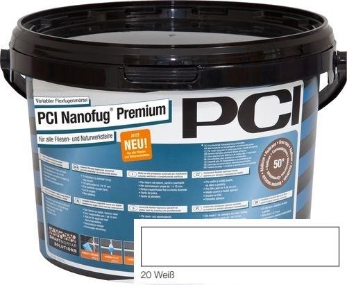 PCI NANOFUG PREMIUM WHITE 20 5KG