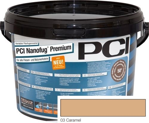 PCI NANOFUG PREMIUM CARAMEL 03 5KG