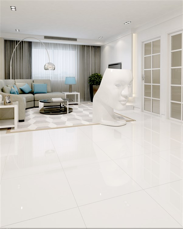 KERAMIČNA PLOŠČICA BRILLIANT WHITE RET 60X60