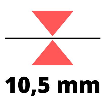 Debelina 10,5 mm