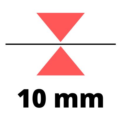 Debelina 10 mm