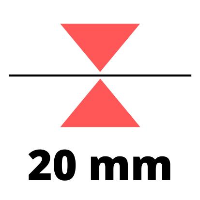 Debelina 20 mm