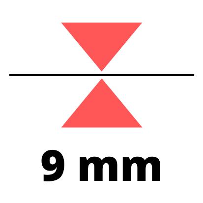 Debelina 9 mm